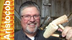 """All three finish versions of the Missouri Meerschaum Freehand corn cob pipe, including the stained and the white and red """"Neked"""" cobs are now available from www.Aristocob.com."""