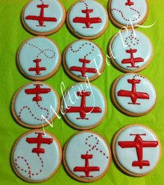 airplane cookies - Google Search