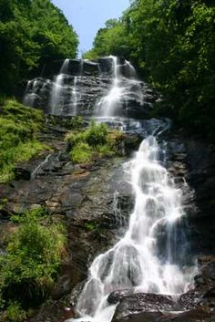 Amicolola Falls - we drive by once a year and don't stop often enough. Beautiful place!