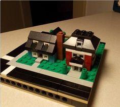 Micropolis Homes | ReBrick | From LEGO Fan To LEGO Fan