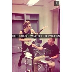 5 seconds of summer imagines / snapchats ❤️