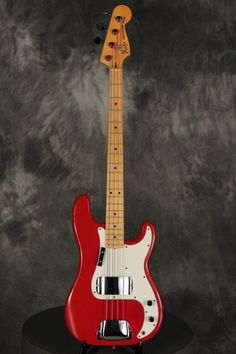 Fender Precision Bass MOROCCO RED