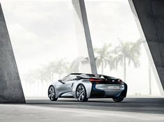 The BMW is a jawdropping piece of design. It also has some sweet tech under the hood thanks to a tiny gasoline engine mated to a plugin hybrid power pack. We like it quite a lot. Bmw I8, Concept Bmw, Gasoline Engine, City Car, Automobile Industry, Bmw Cars, Car Wallpapers, Car Pictures, Photos