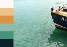 Turfprojects.ie Howth Dublin Fishing Boat Colour Palettes Ireland Design Inspiration