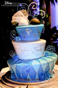 #wedding #cake #disney