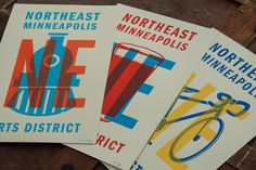 Northeast Minneapolis Arts District Posters on Behance