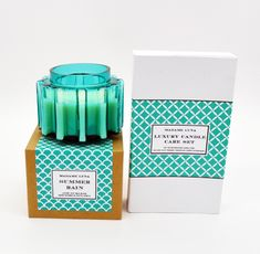 #madameluna #lunac #scentedcandles #gift #new #candlecareset Essential Oil Blends, Essential Oils, Paraffin Wax, Candle Making, Scented Candles, Fragrance, Gifts, Presents, Making Candles