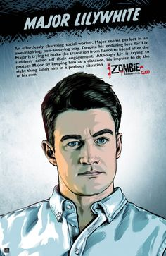 Photo of Izombie Major Lilywhite Season 1 Promotional Picture for fans of iZombie 38496803 Rob Thomas, The Cw, Zombies, Izombie Tv Series, Fanart, Zombie Movies, Ghost Busters, Tv Times, Film Serie
