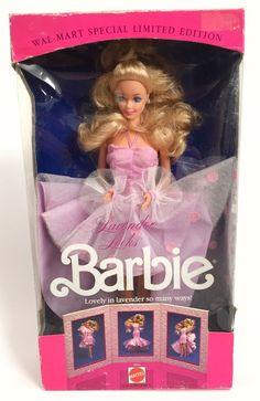 Lavender Looks Barbie Special Limited Edition Vtg 1989 NRFB 3963 Blonde  | eBay