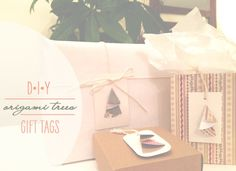 Omiyage Blogs: Guest Post - DIY Origami Trees Gift Tags