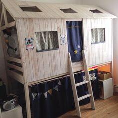 Lit cabane 90x200cm - Woody Wood tooo cool | be INSPIRED { KiDs ...