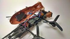 Now You Can Fly An Actual Star Wars Speeder Bike Drone! -  #DIY #drones #geek #rc #speeder #starwars