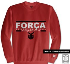$54.99 #FORCA Crewneck Sweatshirt by Força Clothing Co.