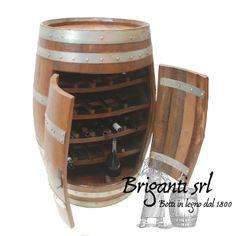 Briganti srl - Botti dal 1800 www.it 310171 - Cesena 6072656 - 2019 Barrel, Mobile Bar, Wood, Leather, House, Home Decor, Fashion, Crochet Bags, Houses