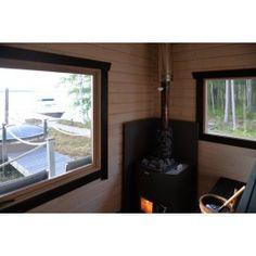 Sauna Kuikka - Kiuasnurkkaus Saunas, Windows, Home, Ad Home, Steam Room, Homes, Haus, Ramen, Window