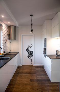 Ceglane wnętrza Elizy i Tomka! - Kocham urządzanie - bo mamy serce do wnętrz Sweet Home, Interior, Design, Home Decor, Little Cottages, Living Room, Decoration Home, House Beautiful, Indoor