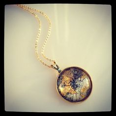 Map Pendant.  Want.