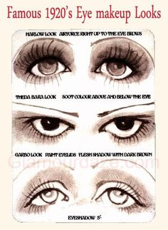makeup trends through the decades - Google Search