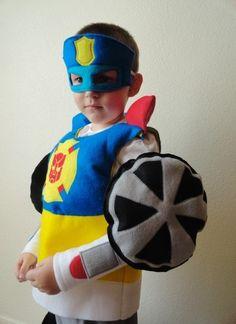 Boys Transformer Rescue Bot Costume by JulieMarieKids on Etsy, $35.00