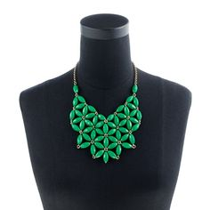 Tessellate necklace by J. Crew, already scheming on how to replicate.