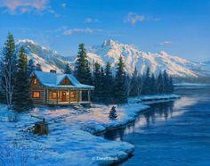 WINTER ON THE LAKE Darrell Bush