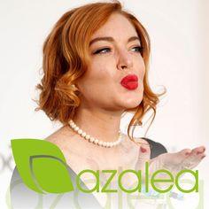 ¿Te apuntas a imitar los looks más clásicos de Hollywood? 😍  Lindsay Lohan ha sido uno de las primeras en hacerlo #AzaleaCosmetics #Trends #Tendencias #Peinados #Ondasalagua #WavyHair #Waves #Cabello #Hollywood #HairStyle