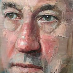 Colin Davidson - Portrait of Simon Callow (detail)