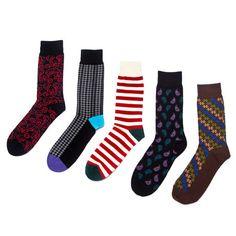 The Tie Bar // Brayden // Five Sock Combo