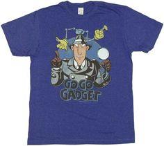f.y.e. - Inspector Gadget Go Go Gadget T-Shirt Sheer