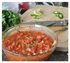 Salsa recipe made with dōTERRA essential oils.