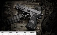 SIG SAUER MK25 The P226 MK25 is identical to the pistol carried by the U.S. Navy SEALs.