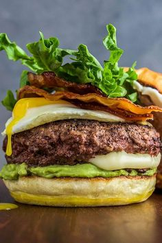 The burger can be many things: delicious, classic, timeless, perfect comfort food. Sometimes, though, a burger can be life altering. Enter, The Juicy Lucy. A mouthwatering burger patty stuffed with a molten cheese surprise.#breakfastrecipes #brunchrecipes #breakfastideas #brunchideas #eggrecipes #breakfasteggs #howtomakeeggs