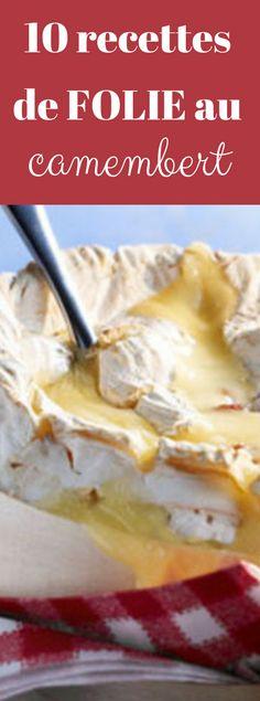 Camembert fondu et fondues de camembert