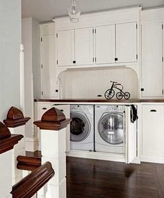 The space of laundry room is too little but the laundry appliances have taken up too much space. Are you always feel trouble about this? So why not try hiding your laundry room in other space? You can hide a laundry room in bookcase, wardrobe, closet, wall cabinet or even the furniture interval until you […]