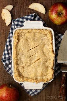Apple Half Slab Pie + Cookbook Giveaway/ Awesome pie recipe..also links for buttermilk ice cream.