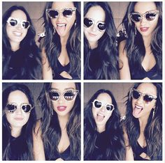 Shay Mitchell posed with a pal.