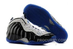 "704006089575b Nike Air Foamposite One ""Concord"" Black White-Game Royal For Sale Hot"