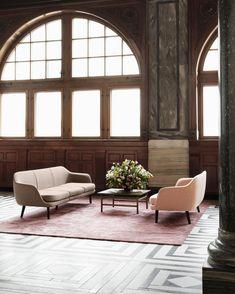 Recline in comfort with the Normann Copenhagen Modular Sum Sofa Two Seater, exuding elegance, simplicity and effortless flow. Nordic Design, Scandinavian Design, Interior Inspiration, Design Inspiration, Decoration Originale, Nordic Interior, Clean Design, Living Room Designs, Living Rooms