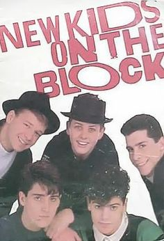 New kids on the block... Saw them when I was 13 with Karen and Allison at Thompson Boling Arena