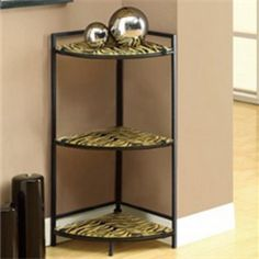 I have similar corner shelf unit like this picture show. I placed it next to my working desk rather than corner wall.