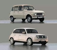 Renault 4, 50 years.