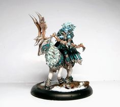 Legion of Everblight Annyssa Ryvaal - Privateer Press, $24.99  Buy this mini with Circle Orboros Morvahna the Dawnshadow - Privateer Press
