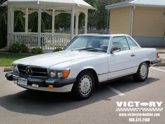 Immaculate 1988 Mercedes-Benz 560SL Convertible... no longer JUST for the Rich & Famous!  And only 68K miles...