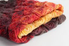 """""""Fire Blanket"""" pattern by Tanya Beliak available to buy...Gorgeous!"""
