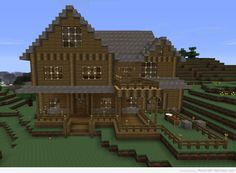 how+to+make+a+minecraft+houses | Minecraft House 1234×905 Wallpaper