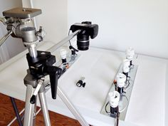 DSLR Overhead Using SnakeClamp Components