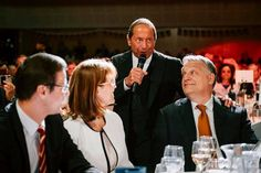 """Paul Anka serenaded Prime Minister Viktor Orban of Hungary with a personalized rendition of """"My Way"""" at the United States Embassy's Fourth of July party in Budapest. Paul Anka, What A Country, American Freedom, Obama Administration, Two Men, Foreign Policy, Prime Minister, Human Rights, Ny Times"""