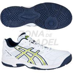 zapatilla de pádel Asics Gel Padel Max, es una de las zapatillas para los jugadores de pádel que se inician o quieren progresar, con el precio más económico de la gama de zapatillas de pádel , las Asics gel Padel, llegan para quedarse. Cuenta con la suela Omni con el que conseguiremos el máximo agarre en la pista. http://www.zonadepadel.es/asics/179-gel-padel-max.html
