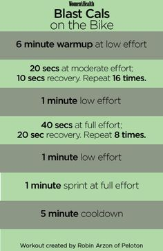 This Tabata-Style Spin Workout Will Push You to the Limit spin bike workout – 30 Days Workout Challenge Spin Bike Workouts, Tabata Workouts, At Home Workouts, Swimming Workouts, Swimming Tips, Body Workouts, Hiit Bike, Studio Workouts, Bicycle Workout