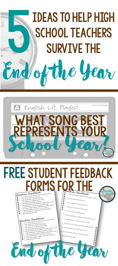 5 tips to survive the end of the year! Grab a FREEBIE too!